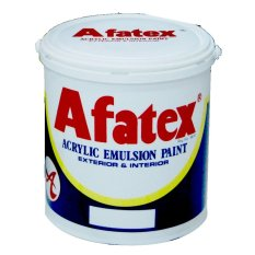 Afatex Cat Lantai Lapangan Olahraga Sport Court Flooring Paint 1 Galon - 4 Kg - Abu-abu - Grey GB 001