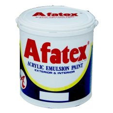 Afatex Interior & Exterior Cat Tembok Super Wall Paint - 1 Galon 4.5 Kg - Bubblegum - Pink PK 016