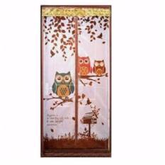 Jual Tirai Magnet Motif Owl Branded Murah
