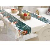 Harga Ai Home Natal Taplak Meja Sekali Pakai Meriah Rectangle Table Cloth Xmas Tableware Meja Meja Makan Cover Snowman Intl Murah