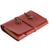Spesifikasi Ai Home Vintage Halaman Kosong String Notebook Jurnal Diary Brown Yang Bagus Dan Murah