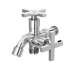 Promo Toko Air Kran Dobel Keran Air Double Faucet D 9G Z