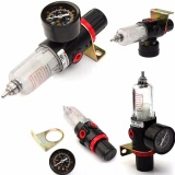 Harga Airbrush Kompresor Tekanan Udara Regulator Gauge Perangkap Air Kelembaban Filter Selang Hitam Intl Merk Not Specified
