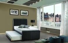 Promo Airland Spring Bed 2In1 202 Luxury New Komplit Set Ukuran 120X200