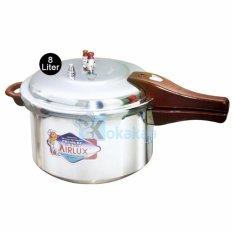 Airlux - Panci Presto Pressure Cooker 8 Liter Pc-108
