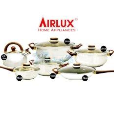 AirLux Panci Set Cookware Stainless Set Lengkap SC8012