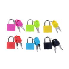 Aiueo Gembok Travel Mini Padlock Color By Aiueo Living.