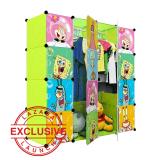 Harga Aiueo Lemari Pakaian Anak Gambar Spongebob 4 Tingkat 8 Laci 2 Gantungan Hijau Baru Murah