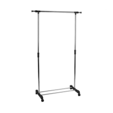 AIUEO Single Pole Telescopic Expendable Clothes Rack - Jemuran Gantungan Baju Tipe 1