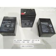 Aki Kering Panasonic 6V 4000mAh