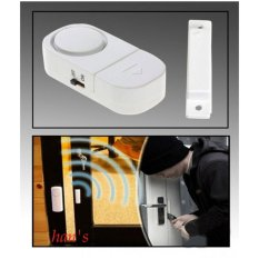Han's Aksesoris - Alarm Pintu dan Jendela Anti Maling Wireless Door atau Window Entry Alarm - White