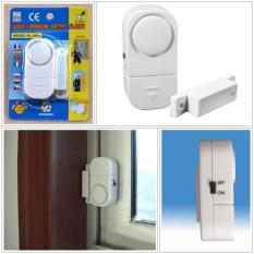 Alarm Rumah Canggih Anti Maling - Alarm System Wireless Cocok Untuk Di Pintu, Jendela, Lemari, Etc - 1 Set   Alarm Pintu Jendela Rumah Anti Maling - Door Window Entry Alarm