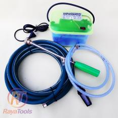 Alat Mesin Steam Cuci Motor dan Mobil - High Pressure Water Pump 12V - 75 Watt