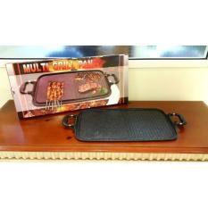 Alat Pemanggang Grill Panci Griller Roti Ayam Sate Steak Diatas Kompor - 8Xpyuz