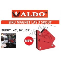 Aldo Arrow Magnetic Welding Holder / Siku Magnet untuk Las 3 inch