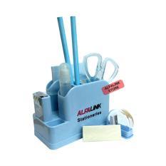 ALFA LINK Stationary Set Blue