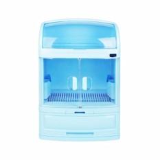 ALFATI_236 - Rak Piring Rovega DCB 2568 Rak Sendok Garpu Pladys Dish Cabinet Plastik Food Grade Anti Serangga & Bakteri BERKUALITAS 100% -
