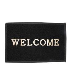 Alldaysmart Keset Rumah / Alas kaki / Karpet Lantai / Motif Welcome 2 Ukuran 60X40
