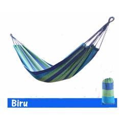 Allunique Hammock Kasur Gantung Camping - Salur Biru