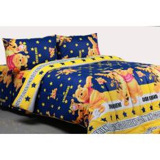 Jual Alona Ellenov Winnie The Pooh Bintang Sprei Katun Yellow Antik