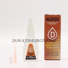 Alteco Cyanoacrylate Adhesive / Lem Alteco Botol 20ml (Harga 3pcs)
