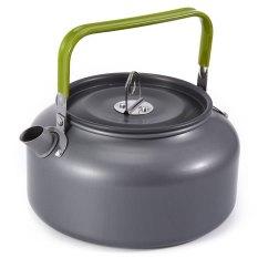Harga Aluminium 1 2 Liter Portabel Teko Kopi Ketel Air With Kantong Jaring Internasional Oem Baru