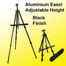 Aluminum Easel Lightweight Display Tripod Menu Poster Picture Holder Stand Folding Light Weight Easel w/ Free Carry Case - intl