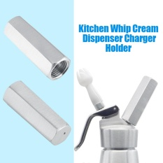 Aluminium Whip Cream Charger Holder Foam Aksesoris Dispenser Dapur Internasional Murah