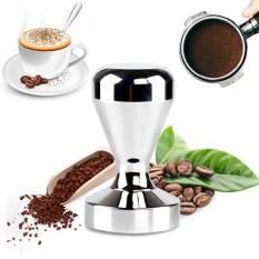 Amart Coffee Barista Espresso Tamper Base Clear Body Stainless Steel Press - intl