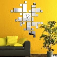 Harga Amart Cermin Berbingkai Jam Dinding 3D Dinding Kristal Nonton Wall Stiker Internasional Termahal