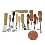 Toko Amart Leather Craft Tools Hand Stitching Leathercraft Tools Punch Hole Accessory 12Pcs Online Di Tiongkok