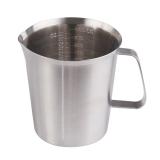 Jual Cepat Amart Stainless Steel Cup Gelas Penakar Lulus Kaca Cair 1000 Ml
