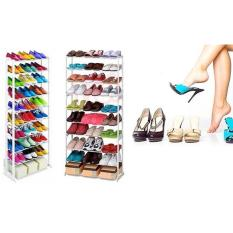 Amazing Shoe Rack Rak Sepatu Lipat Shoes Organiser As Seen on TV Unik