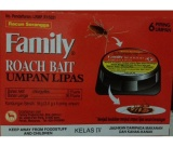 Jual Americ Racun Kecoa Family Roach Bait Isi 6Pcs Branded
