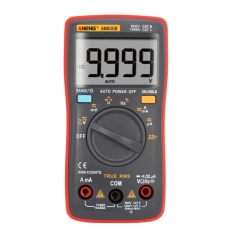 AN8008 True-rms Digital Multimeter 9999 Menghitung Gelombang Persegi Tegangan Pengukur Amper-Internasional