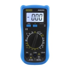 AN8202 Digital LCD Multimeter Backlight AC/DC Ohm Tegangan Ammeter Tester-Intl