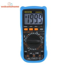 AN8207L Multimeter Digital LCD 1999 Menghitung Tegangan Ammeter Backlit-Intl