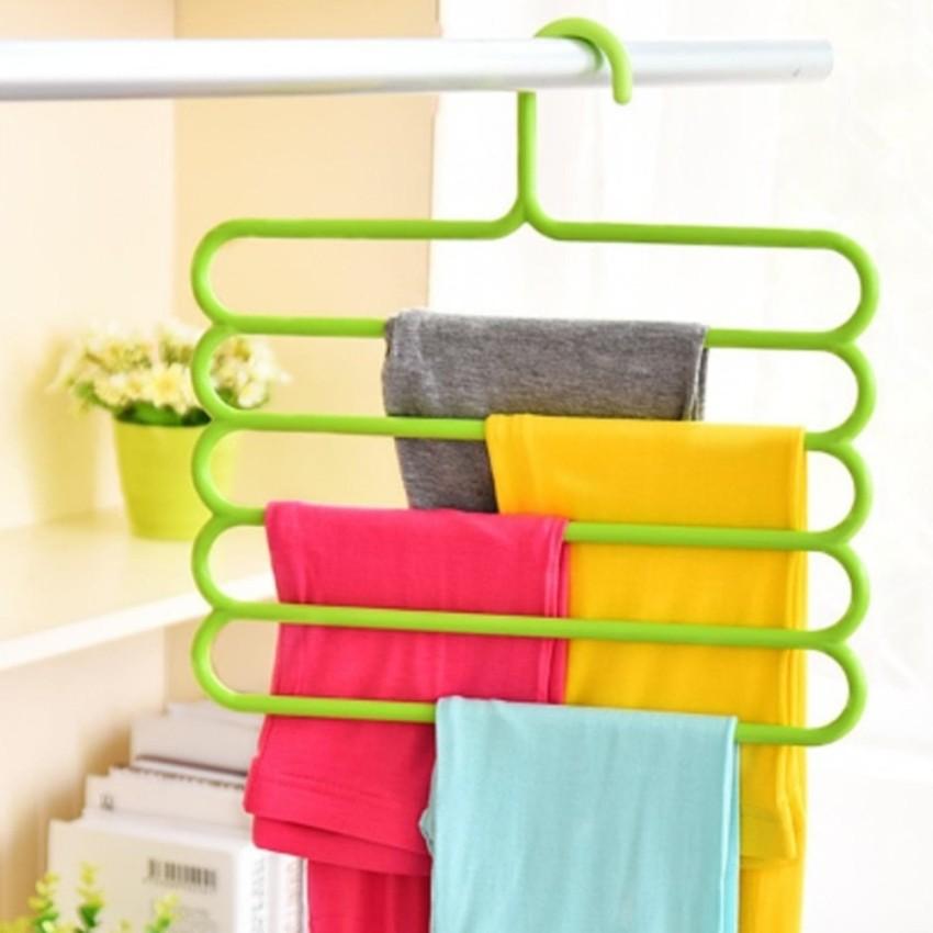 Review Anabelle Hanger Susun 5 Laundry Gantungan Multifungsi Scarf Hanger Lipat Hanger Jilbab Hanger Multifungsi Hanger