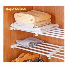 Anabelle Sekat Lemari Size 29-40 Flexibel Rak Baju