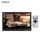 Spesifikasi Andoer 10 Inci Hd Lcd Layar Lebar Bingkai Foto Digital Resolusi Tinggi 1024 X 600 Jam Mp3 Mp4 Video Player Dengan Remote Mengendalikan Hadiah Bagus