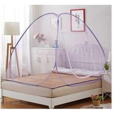 Aneka Kelambu Bed Canopy Box Bayi Kelambu Desain Kelambu Jenis Kelambu Tidur Kain Kelambu Kain Kelambu Nyamuk Kasur Bayi Dengan Kelambu KL 200 Butterfly Lis Ungu