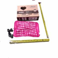 Jual Anekaimportdotcom Bantal Therapi Panas Penghangat Tubuh Reachargeable Pink Termurah