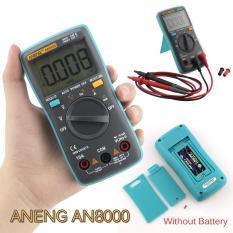 ANENG AN8000 Multimeter Digital portabel 4000Counts otomatis rentang pengukur amper - Internasional