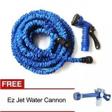 Harga Hemat Angel Magic X Hose Auto Expandable 30 M Selang Air Fleksibel Biru Bundling Ez Jet Water Canon