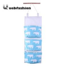 Spesifikasi Hewan Diurutkan Waterproof 3 Poscket Hanging Storage Bag Intl Murah Berkualitas
