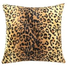 Hewan Zebra Leopard Cetak Bantal Kursi Penutup Dekorasi Rumah B-Intl