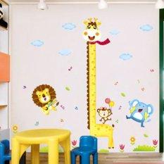 Iklan Hewan Jerapah Harimau Tinggi Pengukuran Pvc Homesticker Stiker Dinding Rumah Gaya Vinil Kertas Dekorasi Wallpaper Ruang Tamu Bedroomkitchen Diseduh Sendiri Gambar Seni Mural Perempuan Anak Babyplayroom Dekorasi Kamar Anak Laki Laki