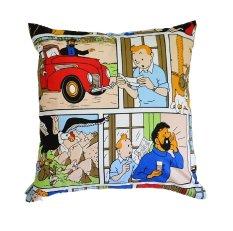 Anne Leissly Tintin Cushion Cover 40X40 Multicolour Diskon Akhir Tahun