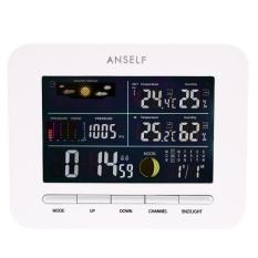 Toko Anself Multi Fungsional 433 Mhz Stasiun Cuaca Nirkabel Digital Lcd Indoor Outdoor Thermometer Hygrometer Jam Alarm Tunda Fungsi Barometer Kalender Fase Bulan Display Intl Terlengkap