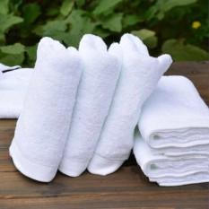 Anti Bakteri Putih 100% Murni Katun Mandi Handuk Mandi Hotel Khusus-Internasional